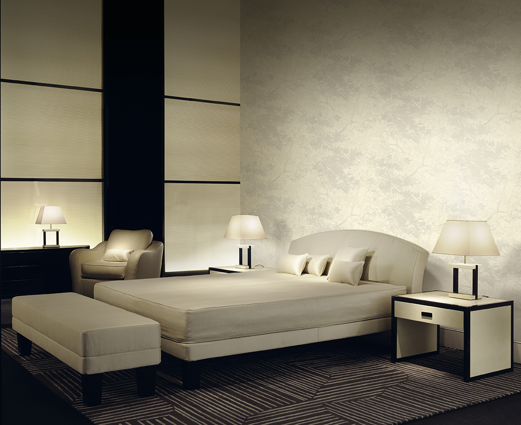 Armani casa presents its latest wallcoverings pacific for Designer casa